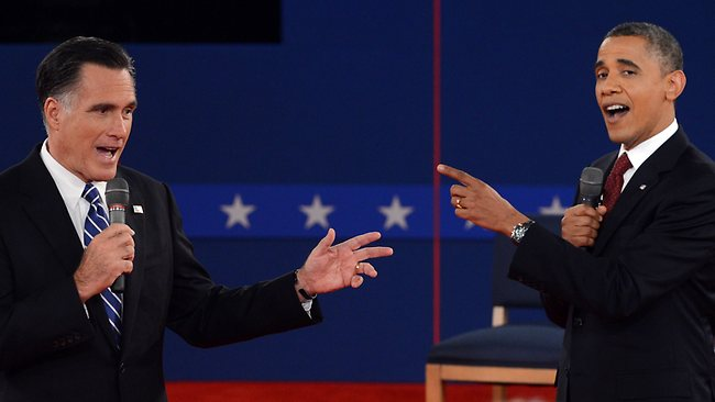 Barack Obama, Mitt Romney hit swing states after fiery ...