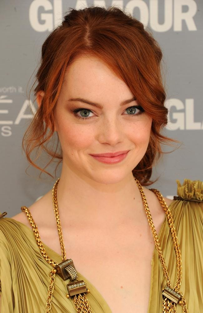 They say red heads have more fun and Emma Stone proves it. (Photo by Dimitrios Kambouris/Getty Images for Glamour Magazine)