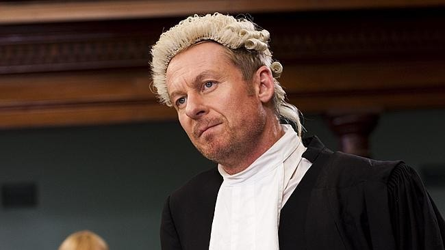 Actor Richard Roxburgh in the hit TV series 'Rake'.