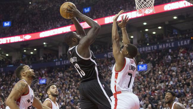 Former Brooklyn Nets forward Anthony Bennett.