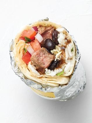 The mini burrito. Picture: Guzman Y Gomez.