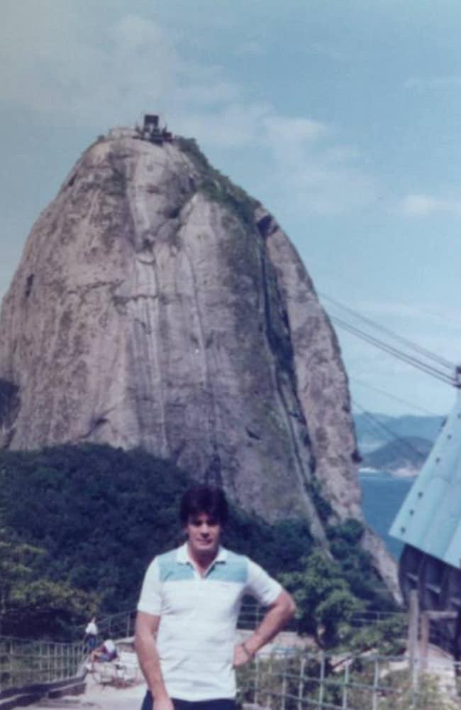 Johnny at Sugarloaf Mountain.