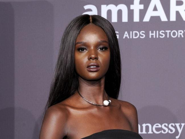 Duckie Thot attends the amfAR New York Gala 2017. Picture: Getty
