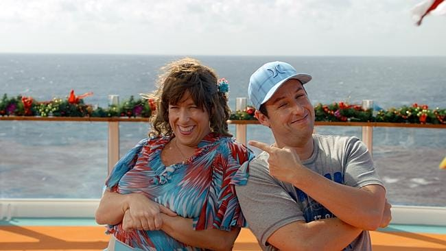 Adam Sandler: he dresses up like a lady! This guy is a comedy genius!