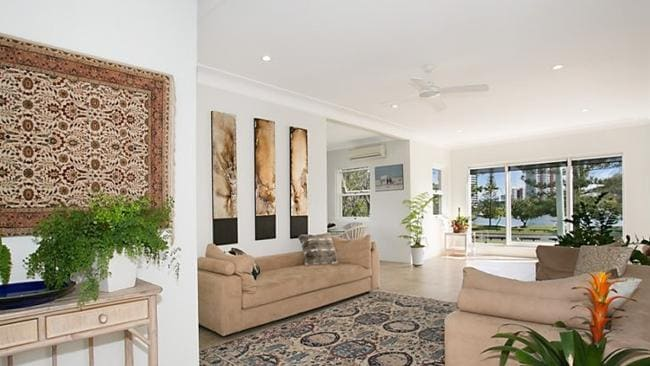 Walking distance to the beach, 51 Rankin Pde, Main Beach attracted interest from high-end buyers. Picture: realestate.com.au