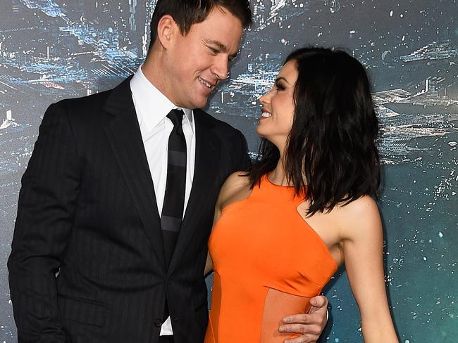 Channing Tatum and Jenna Dewan didn't wake up one morning and suddenly decide to lovingly separate. Picture: Frazer Harrison/Getty Images