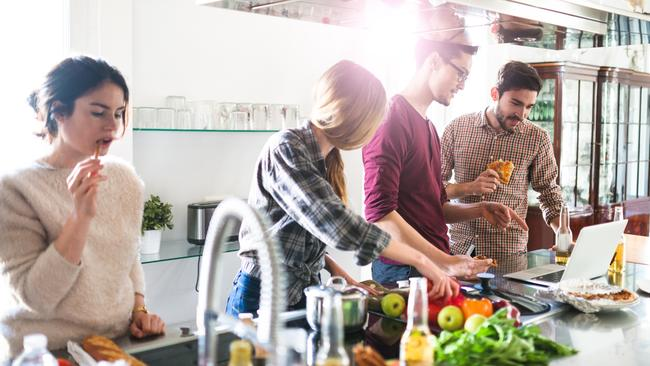 Co-living will be more common in the future. Picture: iStock
