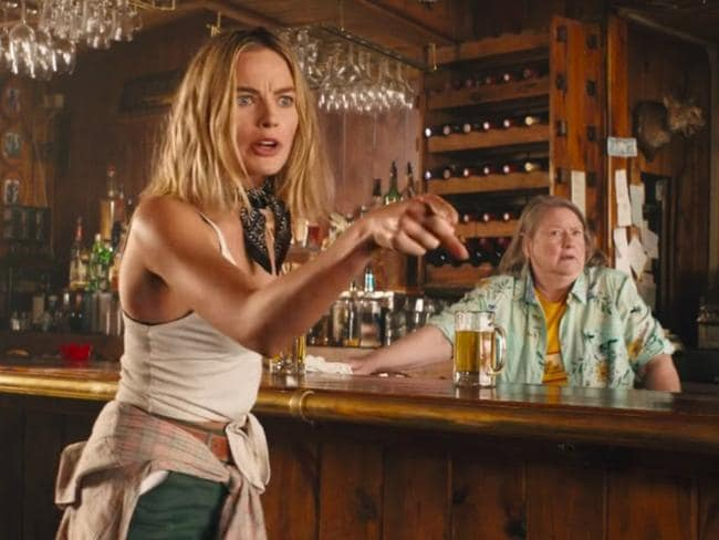 Margot Robbie could appear in a new Dundee movie after starring in the Tourism Australia spoof. Picture: Tourism Australia.