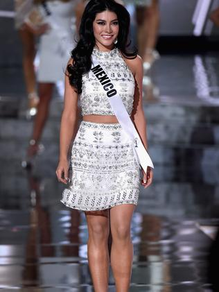 Miss Mexico 2015, Wendy Esparza. Picture: Getty