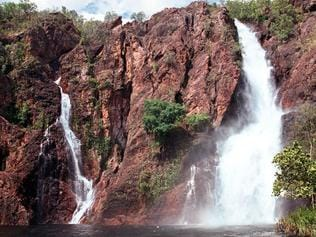 Wangi Falls at Litchfield National Park.