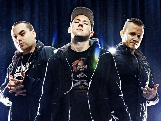 The Hilltop Hoods new album offers both life lessons and fun times. Picture: Nigel Lough