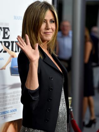 Aniston at the Life of Crime premiere.