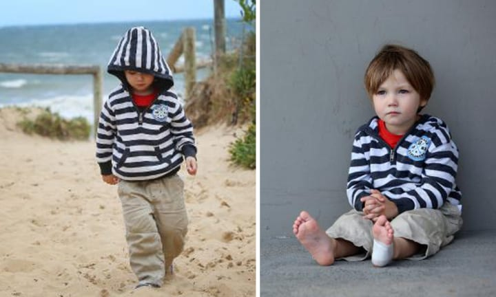 Three-year-old makes terrifying discovery on Central Coast beach