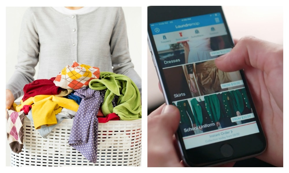 This new app means you'll never have to do laundry again