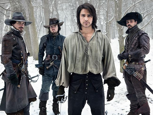 Like what you see? The Musketeers is said to have a Game of Thrones feel but more upbeat — like True Blood. Source: Supplied