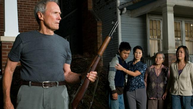 Made the cut...Clint Eastwood's overcooked vigilante movie Gran Torino will be shown tonight on channel 9 instead. Picture: Supplied.
