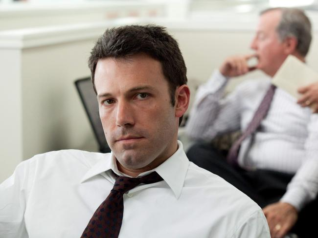Ben Affleck in a scene from film The Company Men.