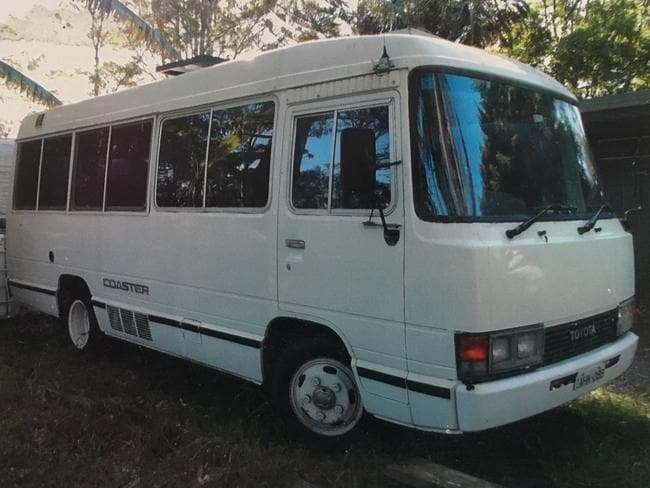 For years, she lived in this converted Toyota Coaster bus, that used to seat 30 passengers.