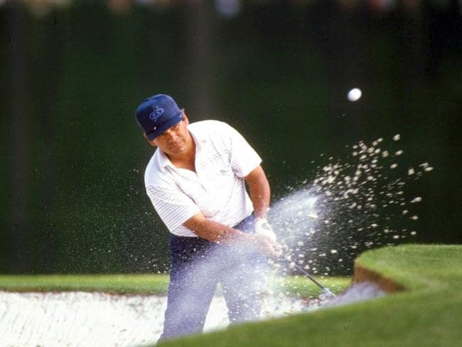 Lee Trevino was never comfortable at Augusta National.