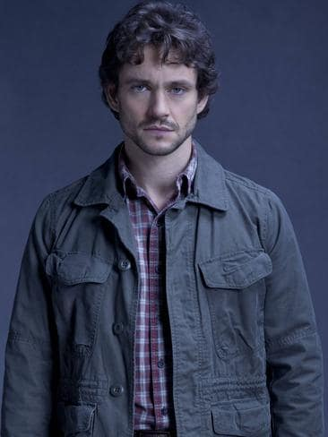 Hugh Dancy says the worse things get for his character the happier he is.
