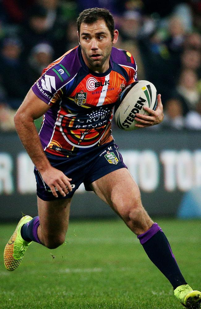 Cameron Smith in action.