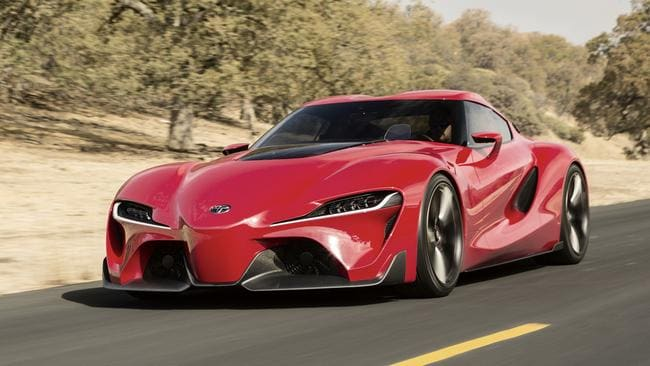 FT-1: Potentially the styling of the next Supra