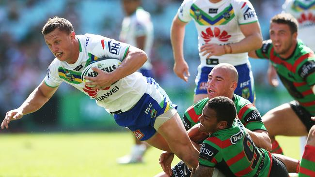 The Rabbitohs needed a change in attitude after their loss to the Raiders. Pic. Phil Hillyard