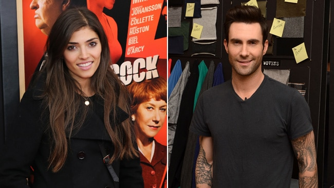 Amanda Setton And Adam Levine