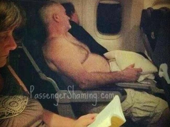 8. Another old mate. This is not your home. Picture: Passenger Shaming