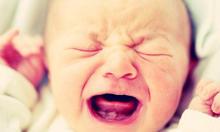 2. NEWBORNS CAN'T CRY. I know, they appear to be crying all the time! But actually they're just shouting. The tears don't kick in until one-to-three months after birth.