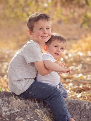 Koda and Hunter Little were shot and driven from a Port Lincoln Wharf by their father, Damien. Picture: South Australia Police