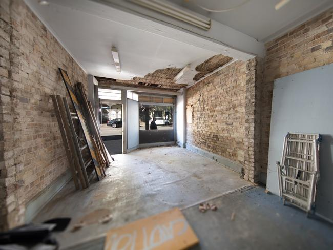 The home in Surry Hills hadn't been lived in for five years. Picture: Spencer and Servi.