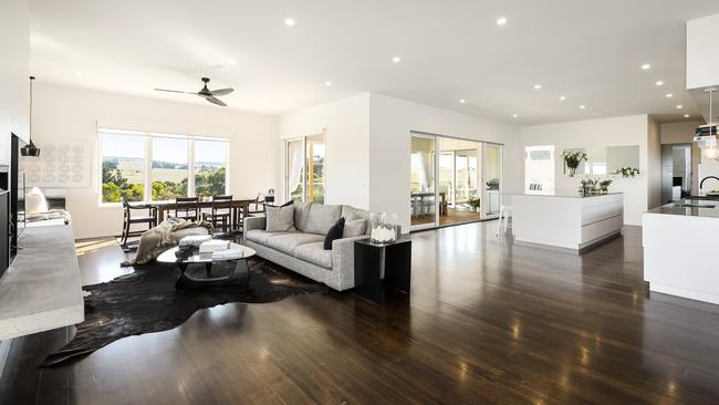 Open-plan living is a major part of the property.