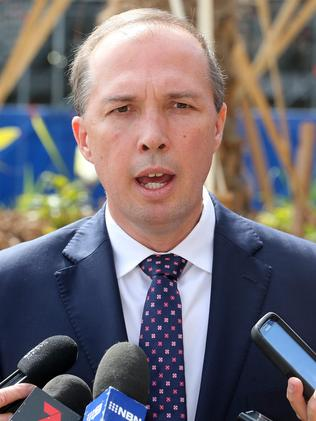 Wiggle room ... Health Minister Peter Dutton. Picture: Richard Gosling