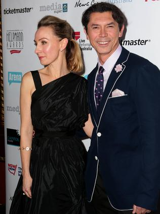 Lisa McCune and Lou Diamond Phillips / Picture: Adam Ward