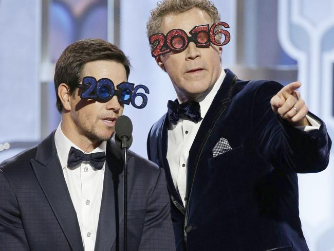 Wahlberg and Ferrell partying like it's 2016.