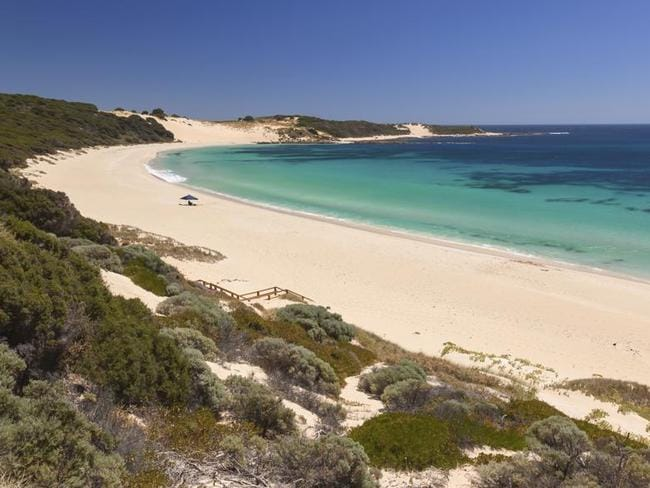 Indijup Beach, one of the many stunning beaches on the Margaret River coast.