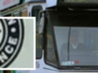 A sticker promoting a neo-Nazi group has been found on a Melbourne tram.