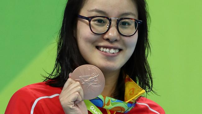 Chinese swimmer Fu Yuanhui becomes social media star