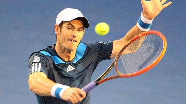 Andy Murray proved no match for the Fed Express.