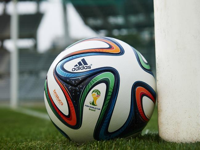 Brazuca catches a quick bit of sleep after another hard day at the FIFA WOrld Cup in Brazil.