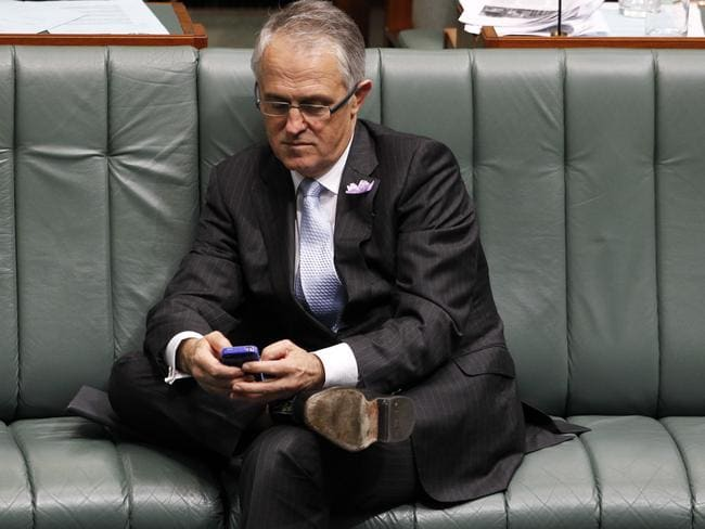 Malcolm Turnbull is on Wickr.