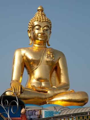Big Buddha, Golden Triangle. Photo: John Borthwick