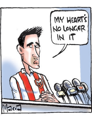Macca on Harry Kewell's retirement from soccer.