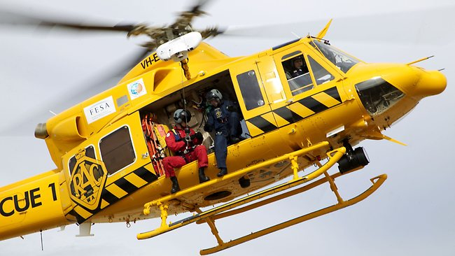 RAC Rescue1 rescue helicopter