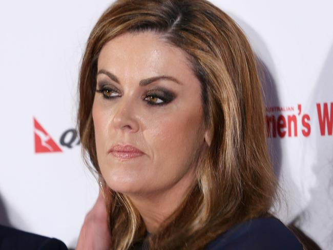 Peta Credlin was confronted over perceptions of her relationship with the former PM. Picture: Richard Dobson