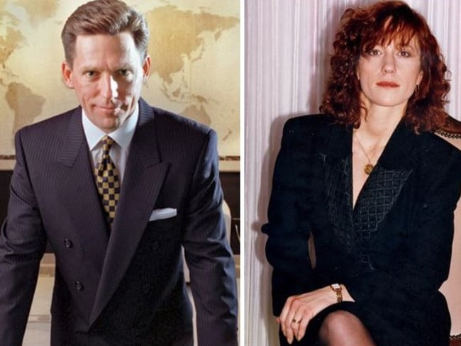 Church leader David Miscavige (left). His wife, Michele 'Shelly' Miscavige, allegedly vanished in August 2007. Pictures: australscope