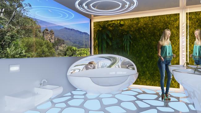 Bathrooms Of The Future Could Have Toilets That Diagnose Health Problems.  Picture: Property Buyer