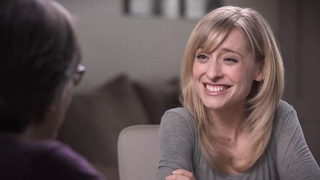 Allison Mack was allegedly brainwashed by cult leader Keith Raniere. Picture: Keith Raniere Conversations/Youtube.