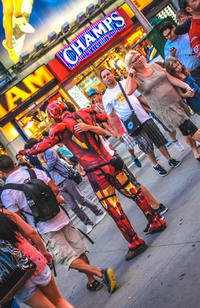 Super hereos may not always be a force for good in New York. Picture: iStock